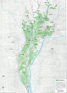 長良川の氾濫
